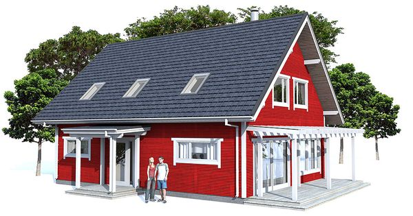 Small house plan affordable building budget three for Small affordable house plans