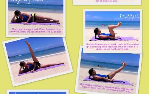 WORKOUT: Inner Thigh workout - every day. --Pop Pilates How-To Get an