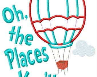 49++ Dr seuss oh the places youll go clipart info