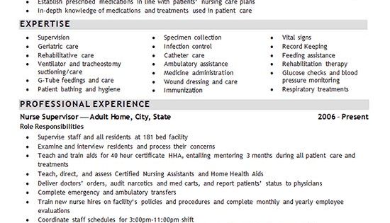 Lpn Nursing Resume Examples | Resume Examples And Free Resume Builder