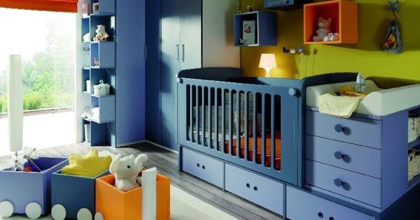 Cuna convertible de muebles jjp baby room muebles tatat - Muebles infantiles barcelona ...
