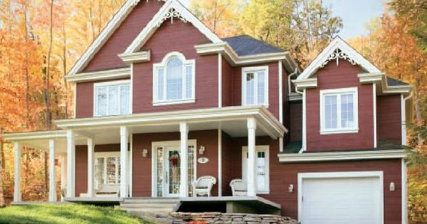 Fachadas de casas americanas bonitas pesquisa google - Casas de madera y mas com ...
