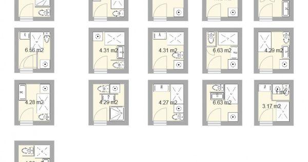 Plan pour salle d eau et petite salle de bains de 2 5m for Plan petite salle de bain 2m2