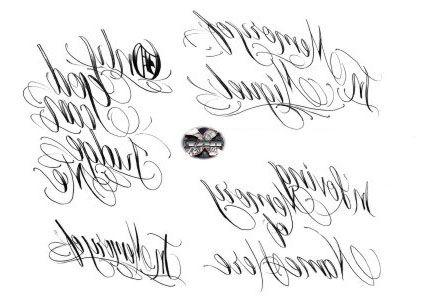 Tipos De Letra Tatuaje