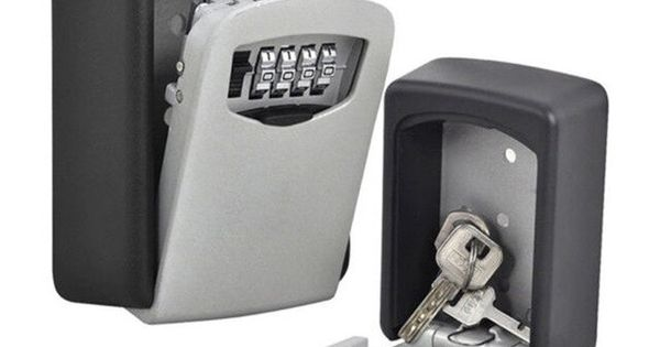 Wall Mount Key Storage Box Organizer Security Keyed Door Lock With 4 Digit Combination Password Zinc Alloy Secret Safe Review Safe Lock Box Key Storage Key Storage Box