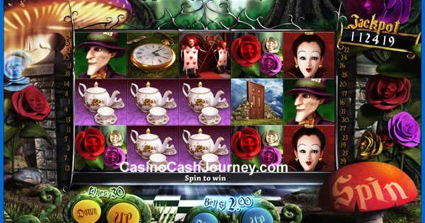 alice in wonderland slot machine for sale