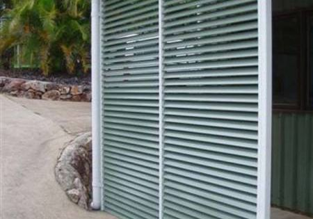 Carport quick instal kits aluminium powdercoated screen for Carport privacy screen