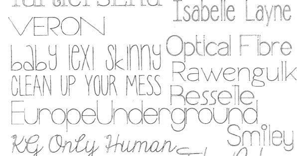 FREE Skinny Silhouette Sketch Pen Fonts | Silhouette Angelika | Cameo | Pinterest | The Ou0026#39;jays ...