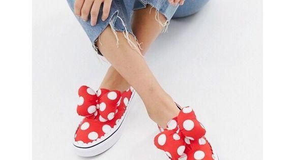 ????2X HP????Vans X Disney Minnie Bow Slip On ❤️ NWT | Minnie