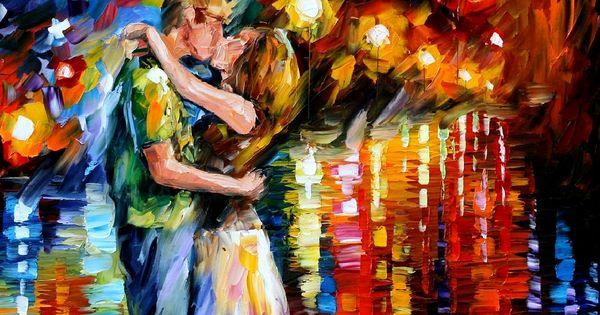 Happy V Day Last Kiss By Leonid Afremov Quotes