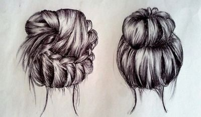 6 Cute Messy Hairstyles For Long Hair Hair Sketch Cute Messy Hairstyles Hair Canvas