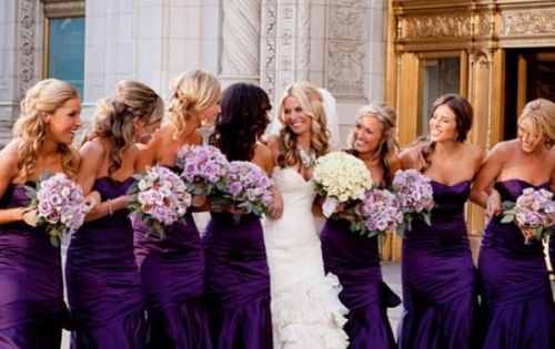 40 Glamorous Dark Purple Wedding Inspirational Ideas | Weddingomania....I don't post much