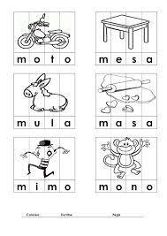 Resultado De Imagen Para Lectoescritura Letra Ma Me Mi Mo Mu Con