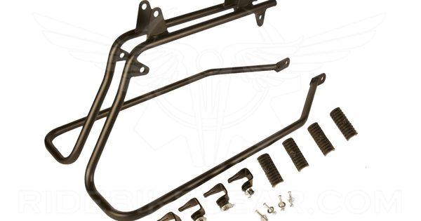 New Softail Bagger Saddlebag Conversion Bracket For Harley