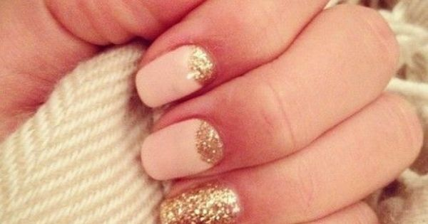 The hottest thing in nails right now is an accent nail, and