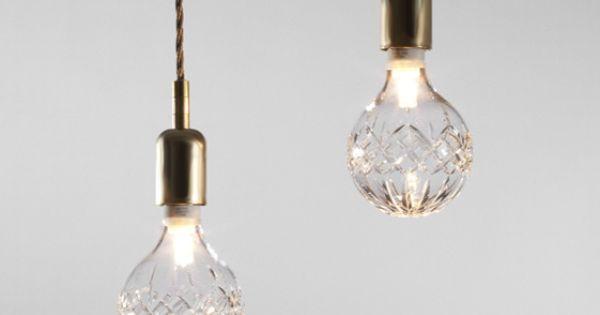 lee broom crystal bulb, just stunning