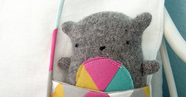 Stuffed Animal Pillows With Pockets : sew a pocket on a pillow Sewing and patterns Pinterest Pillows