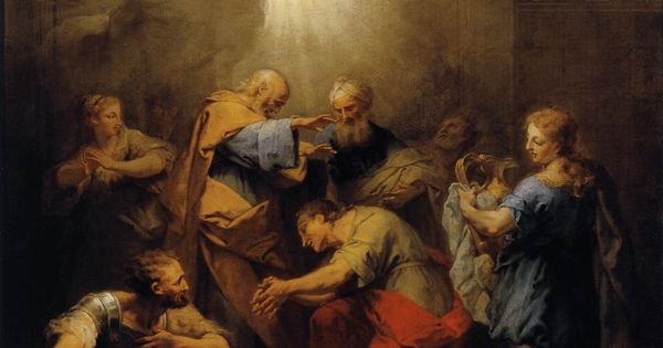 jean restout painting pentecost
