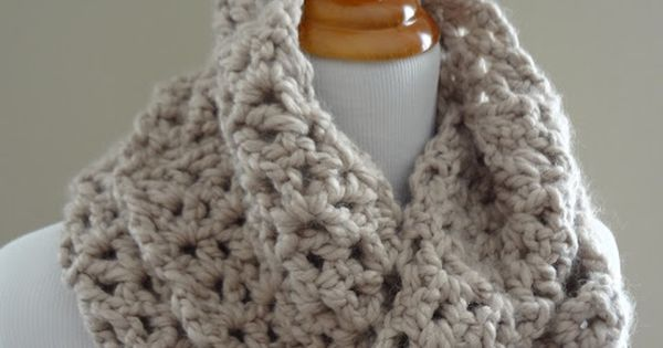 Free Crochet Pattern Pavement Infinity Scarf : Free Crochet Pattern for Pavement Infinity Scarf or make ...