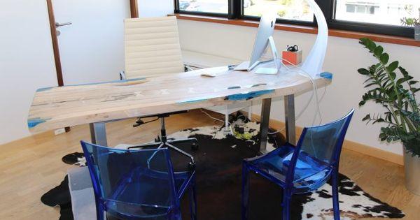 Bureau Teck Design Bureau Bois Teck Resine Meuble Design Industriel Ruedesiambrest Bureau De Style Petit Meuble D Appoint Petit Meuble