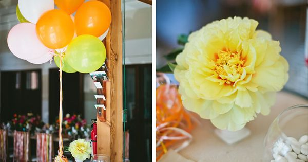 Wedding Decorations Sacramento Yellow And Orange Wedding Ideas By Sacramento Wedding Photographer