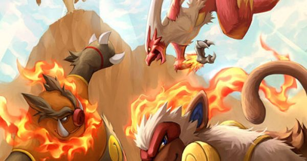 Fire Type Starters Final Evolution Pokemon Pinterest