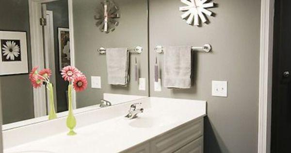 Hermosas ideas para decorar el lavamanos de tu ba o hola - Como decorar el bano ...