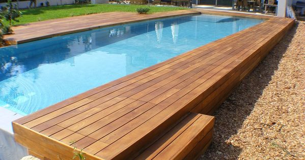 Swimming Pool Rectangular Above Ground Infinity Pool With