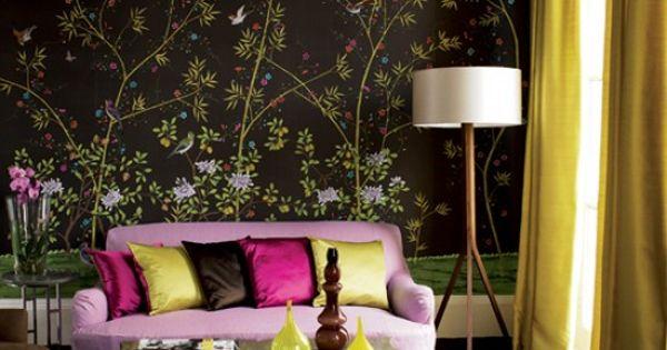 Exotic Living Room Design Decorating Ideas