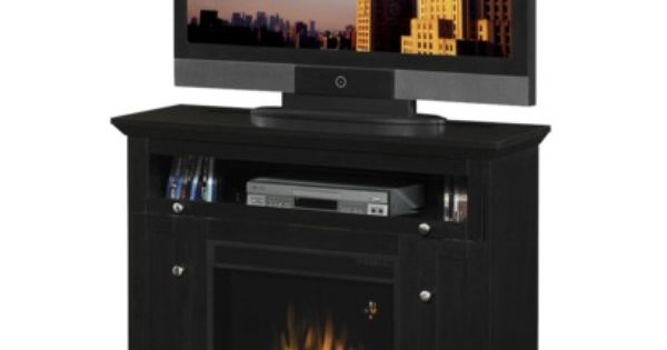 cool idea electric fireplace and tv stand combo for the home pinterest electric. Black Bedroom Furniture Sets. Home Design Ideas
