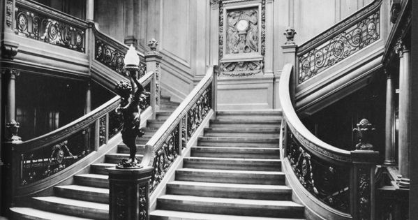Titanic Grand Staircase | MaritimeQuest - RMS Titanic (1912) Inside the Titanic