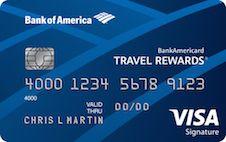 Bankamericard Travel Rewards Review Travel Rewards Credit Cards Best Travel Credit Cards Travel Credit Cards