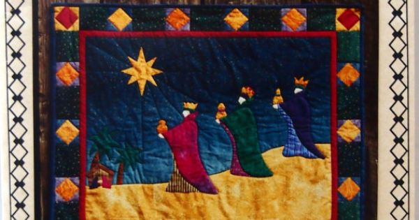 We Three Kings By Coral Love And Sagebud Designs Wall