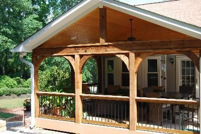 Open Porch Covered Porches Photo Gallery Archadeck Of Birmingham Porch Design House With Porch Pergola