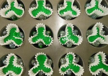 O Trevo De 3 Folhas Shamrock Cupcakes S 237 Mbolo N 227 O