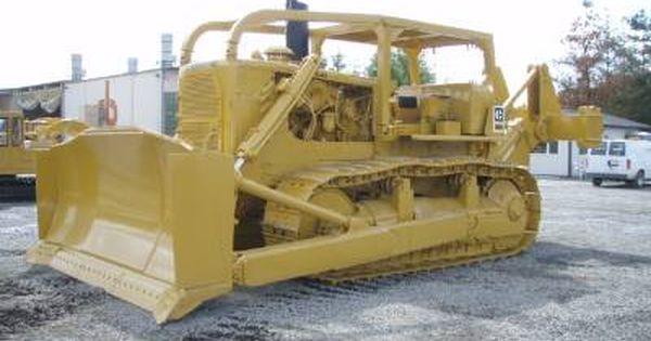 Old Heavy Equipment : Vintage caterpillar d a hp g
