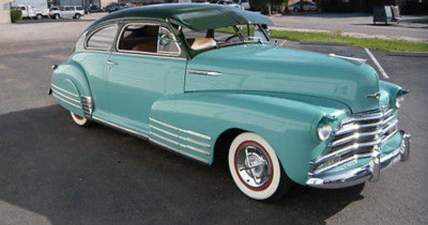 1947 Chevrolet 2 Doors Coupe Fleetline Fastback Restored Used