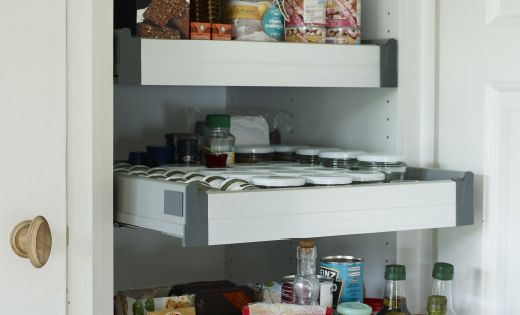utility cabinets for kitchen ikea sektion high cabinets as pantry use pull out 6745