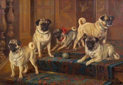 The 14 Proudest Pugs In The History Of Art Pug Art Pugs Dog