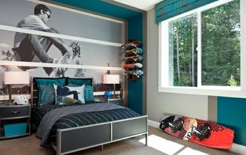 farbgestaltung f rs jugendzimmer 100 deko und einrichtungsideen kinderzimmer babyzimmer. Black Bedroom Furniture Sets. Home Design Ideas