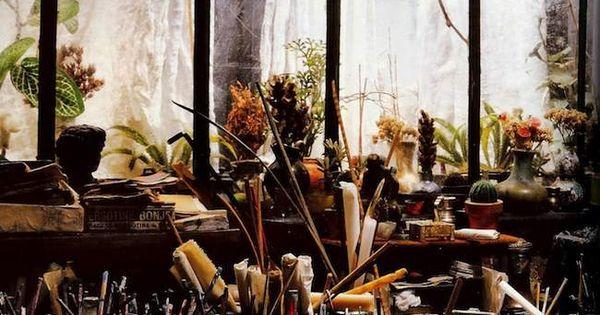 Miniature by French artist Ronan-Jim Sevellec who creates beautifully bohemian small worlds.