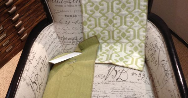 Sam Moore Accent Chair Print Fabric For Back And Seat