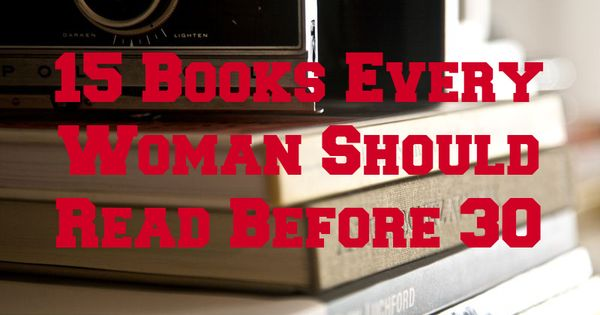 15 books that change women's' lives.