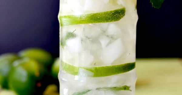 Tequila, limeade, mint and seltzer make this Tequila Limeade a perfect summer