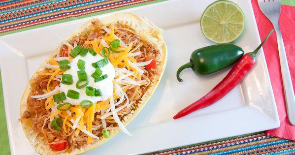 courge spaghetti fa on mexicaine la bo te gourmandises. Black Bedroom Furniture Sets. Home Design Ideas