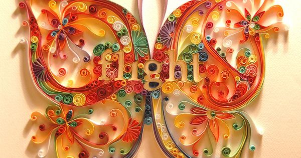 Paper quilling ideas using simple tools long strips of for Quilling strips designs