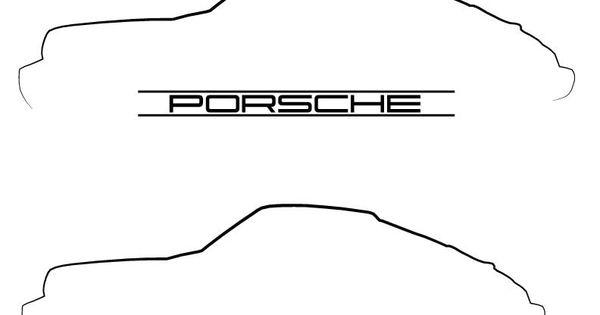 Cars On Line >> porsche outline - Buscar con Google   Sketches Line Vector   Pinterest   Porsche 911 and Cars