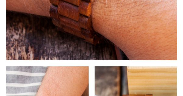 Our Dover in Koa wood with a tapered black dial is a new favorite among many, including Karissa of Vegan A La Mode and her husband Thomas - perfect for the casual guy with killer style.
