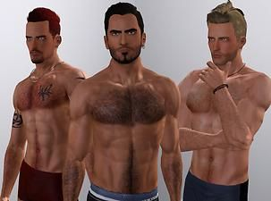 Mod The Sims Custom Body Hair Overlay Body Hair Sims 4 Body Mods Sims
