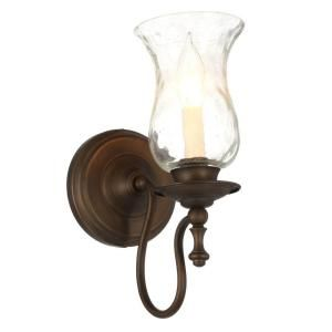 Maxim Lighting Towne 1 Light Oil Rubbed Bronze Sconce Sconces